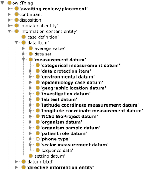 measurement datum